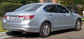 Honda Accord (North America eighth generation) - Sedan