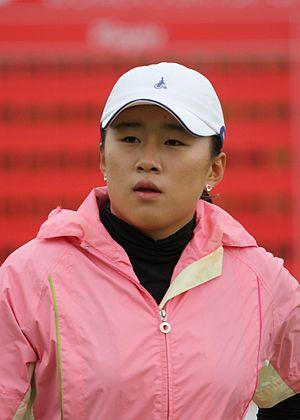 Amy Yang - Yang at the 2009 Women's British Open