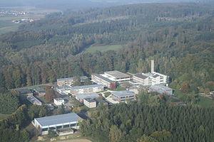 Grünberg, Hesse - Air photograph of the Theo-Koch-School Grünberg, October 2010
