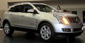 GM Theta platform - 2010 Cadillac SRX