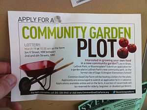 Community Garden Plot, Common Good City Farm, ...