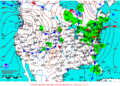 2012-01-27 Surface Weather Map NOAA.png