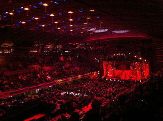 Public Auditorium - 2012 Rock and Roll Hall of Fame induction ceremony held at Public Hall