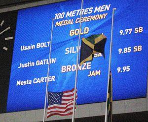 2013 World Championships in Athletics – Men's 100 metres - Image: 2013 World Championships in Athletics (August, 12) Men's 100 metres