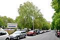 2014-05-08 Adolfstraße in Hannover, Blick entlang des unbefestigten Parkplatzes, wo zuvor das Ernst-August-Palais stand ...jpg