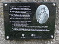20140726 WWII Monument in memory of private Alexander Caerts in Lanklaar on eastern bank of Zuidwillemsvaart 2.jpg