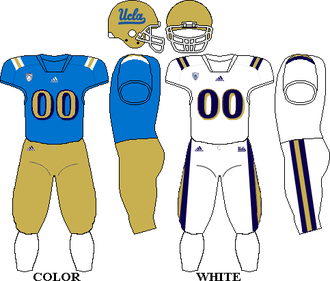 2014 UCLA Bruins football team - Image: 2014 UCLA Uniform