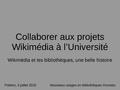 20150703 - Collaborer aux projets Wikimédia à l'Université.pdf