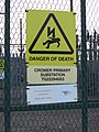 2016-01-10 Cromer primary substation, Stevens road, Cromer (1).JPG