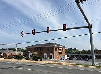 Arnolds Corner, Virginia - Shopping center at Arnolds Corner