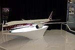 2016.10.13.113139 Boeing 777X model Future of Flight Center & Boeing Tour Everett Washington (cropped).jpg