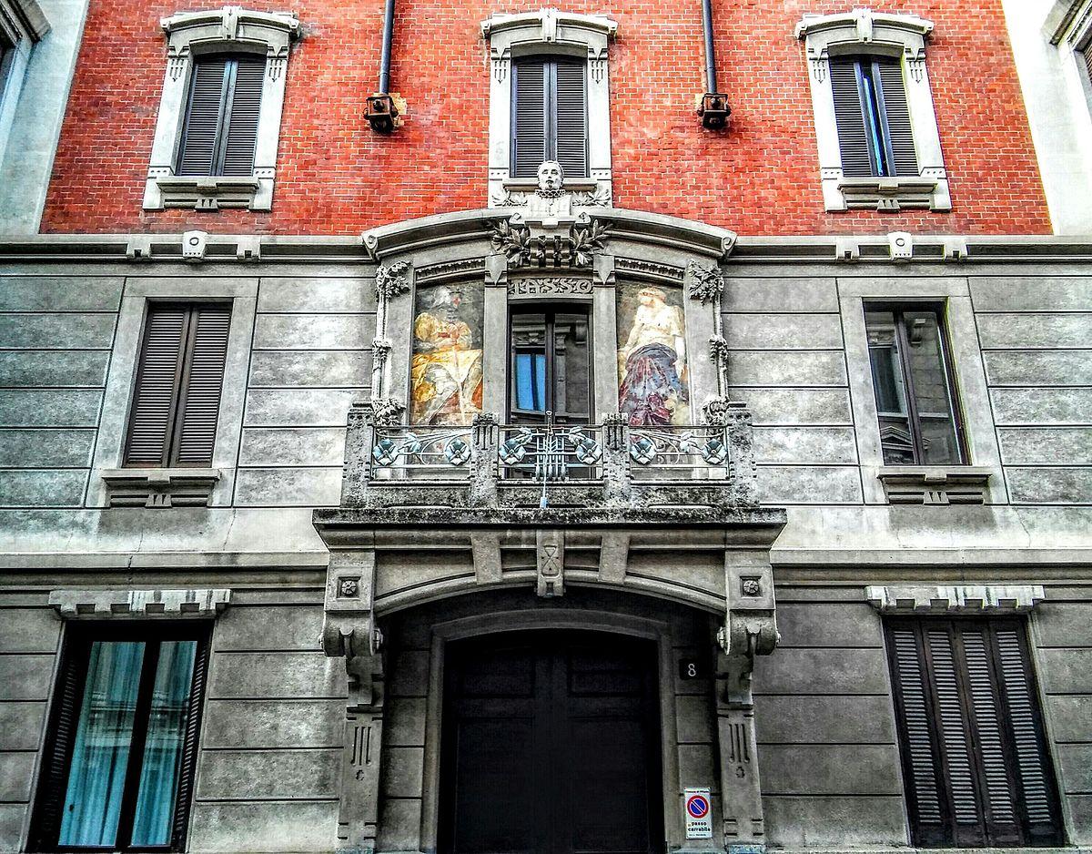 Casa donzelli via tasso wikipedia for Via pietro mascagni 8 milano