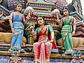 2016 - Indian Temple - Sri Mariamman Temple outside.jpg