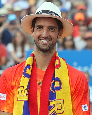 Thomaz Bellucci - Bellucci at the 2016 Ecuador Open Quito Final