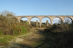 2016 at Carnon viaduct - from the north.JPG