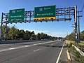 2017-10-06 09 41 12 View south along U.S. Route 1 (Brunswick Pike) at the exit for Interstate 95 South (Philadelphia) in Lawrence Township, Mercer County, New Jersey.jpg