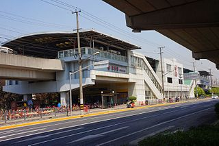 Songfa Road station Shanghai Metro station
