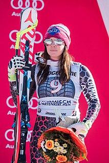 Tina Weirather Liechtenstein alpine skier