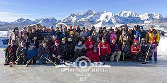 Bonspiel - Image: 2017 Sawtooth Outdoor Bonspiel Participants