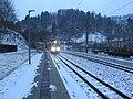2018-02-09 (104) NÖVOG ET1–ET9 at the early morning at Bahnhof Schwarzenbach an der Pielach.jpg