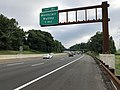 2018-07-17 08 35 39 View north along New Jersey State Route 444 (Garden State Parkway) between Exit 150 and Exit 151 in Nutley Township, Essex County, New Jersey.jpg