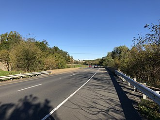 Round Hill, Loudoun County, Virginia - SR 7, the largest highway in Round Hill