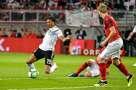 20180602 FIFA Friendly Match Austria vs. Germany Leroy Sané 850 1160.jpg