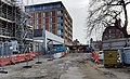 2018 Woolwich, Crossrail construction site 03.jpg