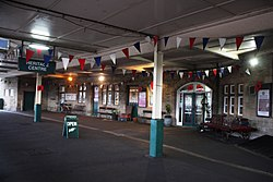 2018 at Carnforth station - the heritage centre.JPG