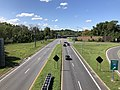 2019-08-25 11 04 07 View south along U.S. Route 1 (Washington Boulevard) from the overpass for Interstate 195 (Metropolitan Boulevard) in Arbutus, Baltimore County, Maryland.jpg