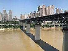 201908 Chongqing Jialing River Bridge.jpg