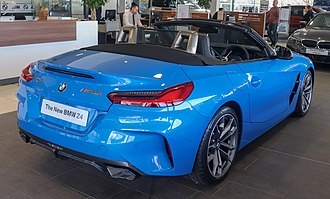 BMW Z4 (G29) - Rear view