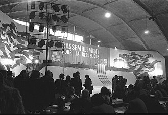 Rally for the Republic - RPR meeting in 1982.