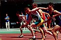 261000 - Athletics track Kieran Ault-Connell action - 3b - 2000 Sydney race photo.jpg
