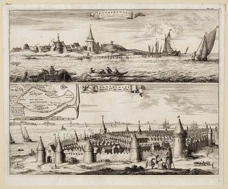 1530s - November 5, 1530: St. Felix's Flood destroys the city of Reimerswaal