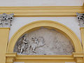 281012 Mythological scene as a bas-relief on the western facade of the Wilanów Palace - 04.jpg