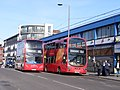 287 and EL1 bus routes, Barking.jpg