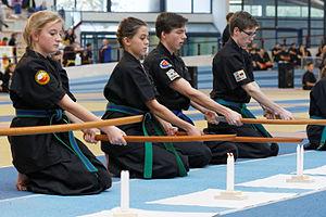 Korean swordsmanship - 2nd European Haidong Gumdo Championships: candle extinction.