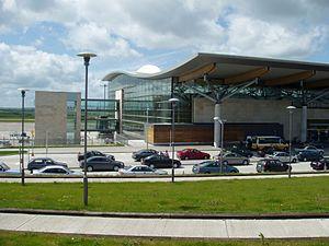 Cork–Limerick–Galway corridor - Cork Airport