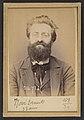 308. Novi. Ernest, Théodore. 32 ans, né à Nice (Alpes-Maritimes). Architecte. Anarchiste. 27-2-94. MET DP290673.jpg