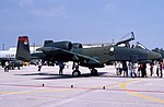 353d Tactical Fighter Squadron A-10A 77-0211 CN 136 xfr to AMARC 23 Oct 1992.jpg