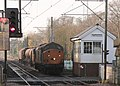 3S60 Stowmarket-Clacton RHTT with 37 604 leading approaches Ingatestone level crossing - 15906057452.jpg