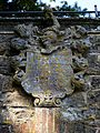 3 Arched Summer House coat of arms at Parham Park, West Sussex, England.jpg