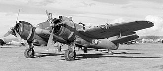 415th Special Operations Squadron - a Beaufighter of the 415th Squadron