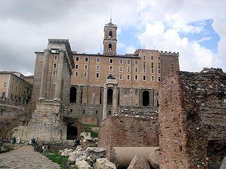 4700 - Roma - Fori - Tabularium - Foto Giovanni Dall'Orto - 18-Mar-2008.jpg