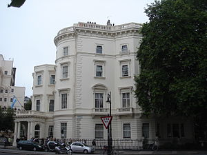 Sidney Herbert, 14th Earl of Pembroke - Herbert's birthplace, 49 Belgrave Square
