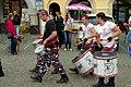 5.9.15 Drummers in Cesky Krumlov 03 (21205015322).jpg