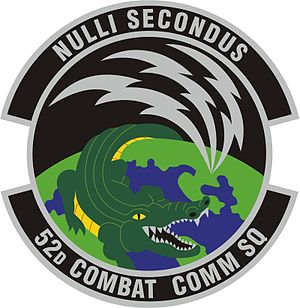 5th Combat Communications Group - Image: 52d Combat Communications Sq Patch