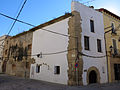 555 Casa de Sant Jordi, o Sinagoga, c. Major de Remolins 44 - cantonada tv. Mur (Tortosa).JPG