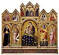 5 Catarino. Madonna and Child, the Crucifixion, and Saints 1380-89 Walters Gallery, Baltimor.jpg